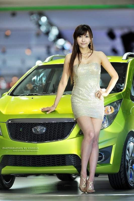 Gu Ji Sung - Korean Sexy Auto Show Model