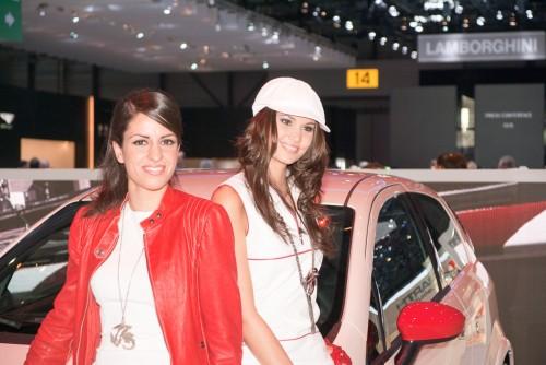 Sexy Promo Girls At Geneva Auto Show 2010