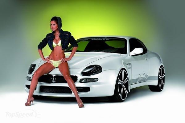 Beautiful Auto Model Maserati Muscle Picture
