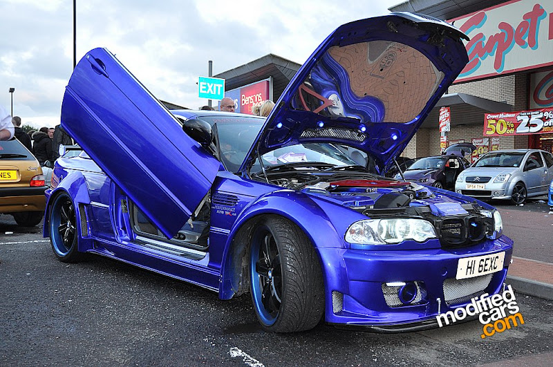 Gambar Modifikasi  BMW E46 Convertible 2002