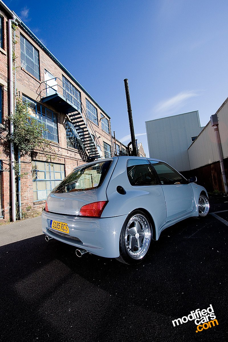 1998 Peugeot 106 Gti Modified Pictures Gambar Foto