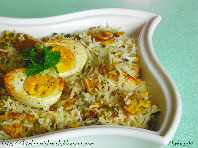 Egg Biriyani