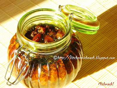 Pickled Raisins
