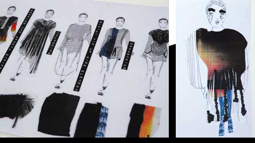 Fashion Lab Fad Finalists Portfolio Examples