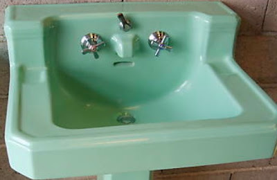 Bathroom Sink on Blueblue Homes  The Green Bathroom Sink