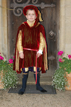 Peter as the page on the way to Camelot