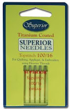JUST ARRIVED! 100/16 TITANIUM-COATED TOPSTITCH NEEDLES