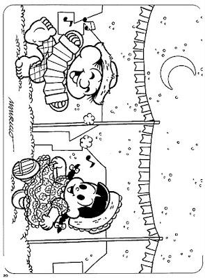 turma da monica: atividades festa junina