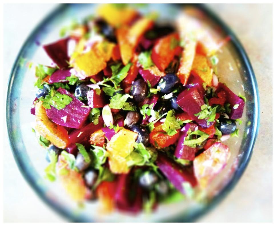 recipe: ottolenghi beetroot salad [23]