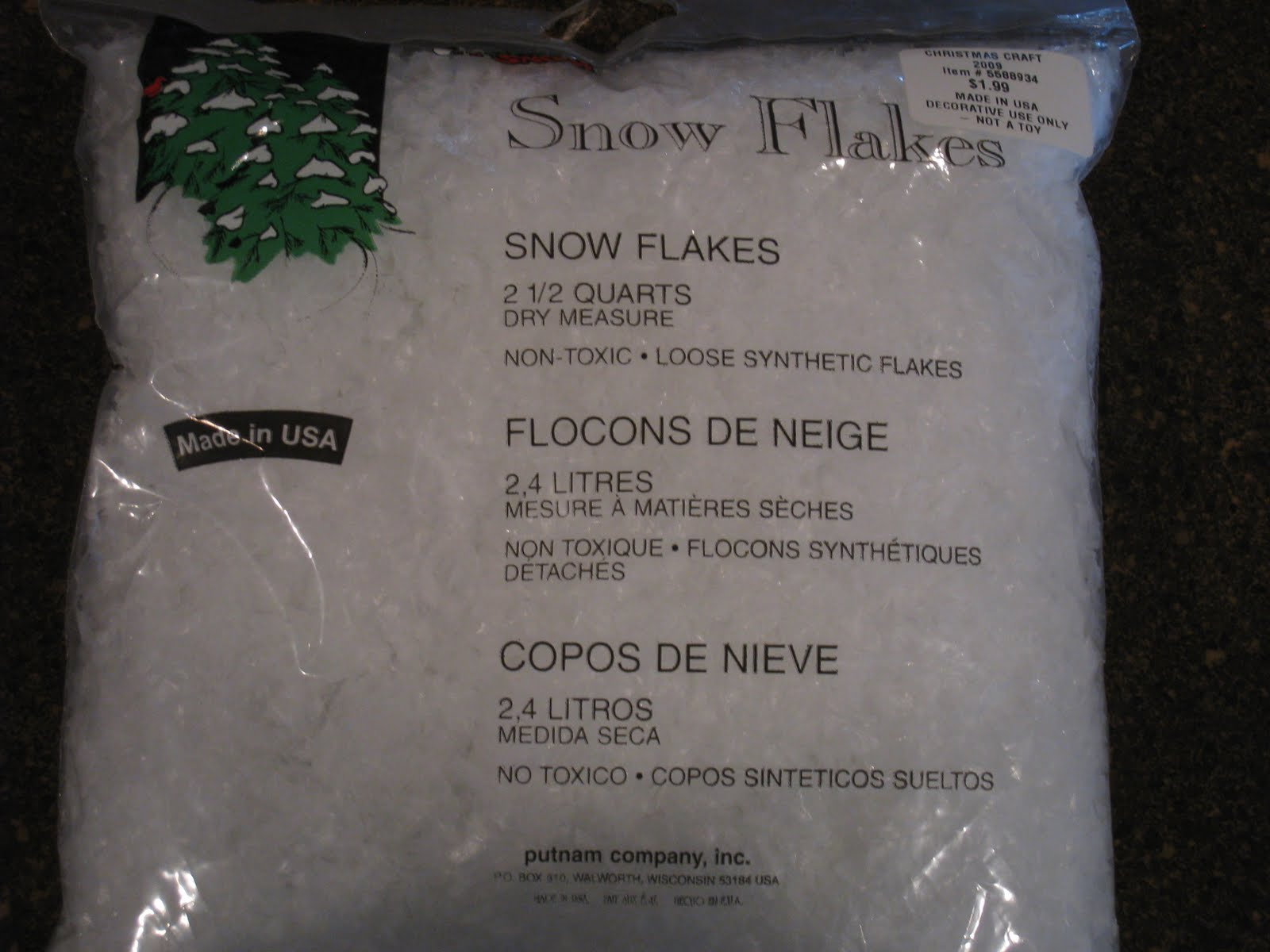 Hobby lobby craft bags - A Bag Of Snowflakes Also From Hobby Lobby And A Roll Of 1ply Jute Twine