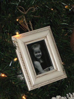 whitneys photo frame ornament - Mini Picture Frame Ornaments