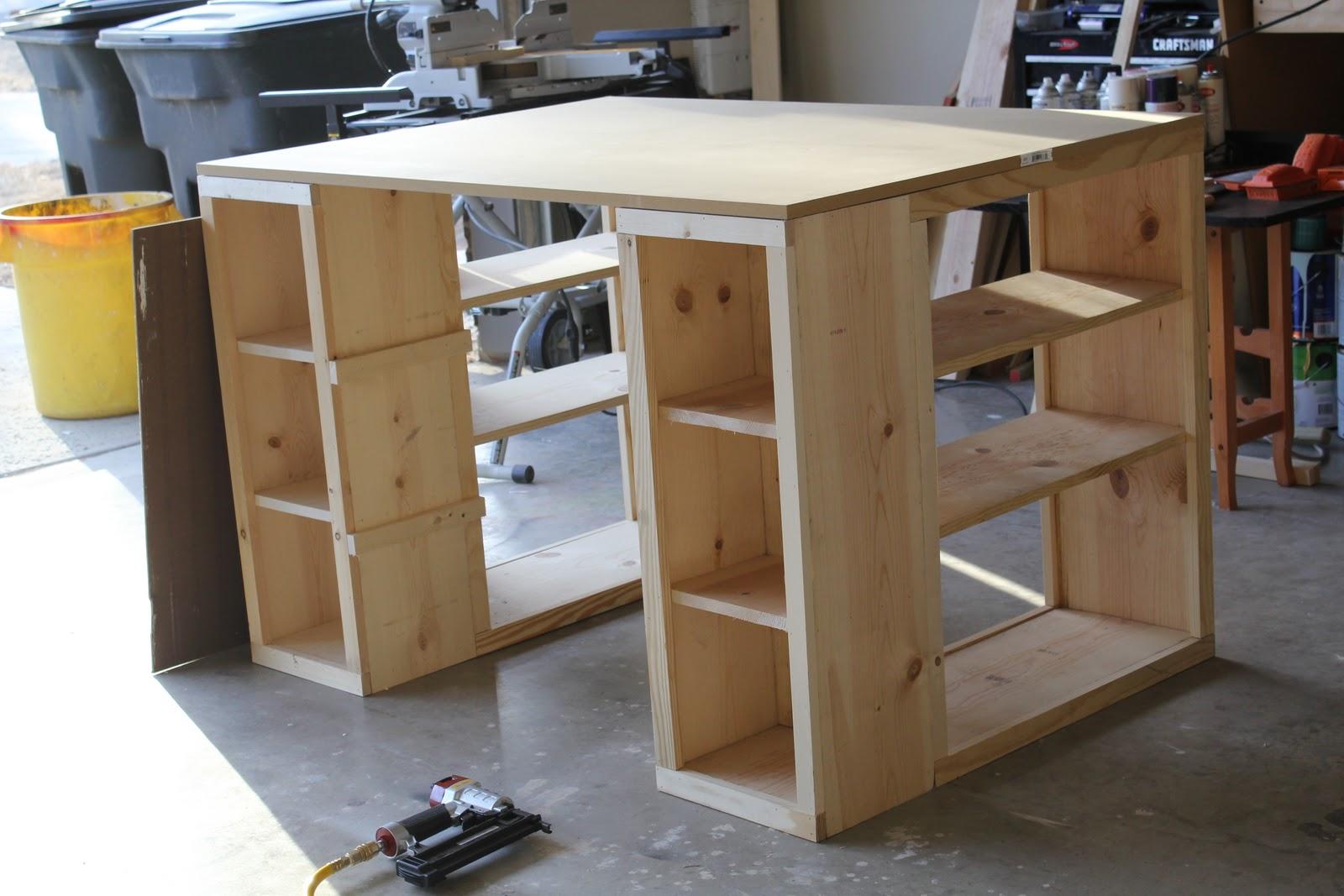 Make your own craft table - Make Your Own Craft Table 3