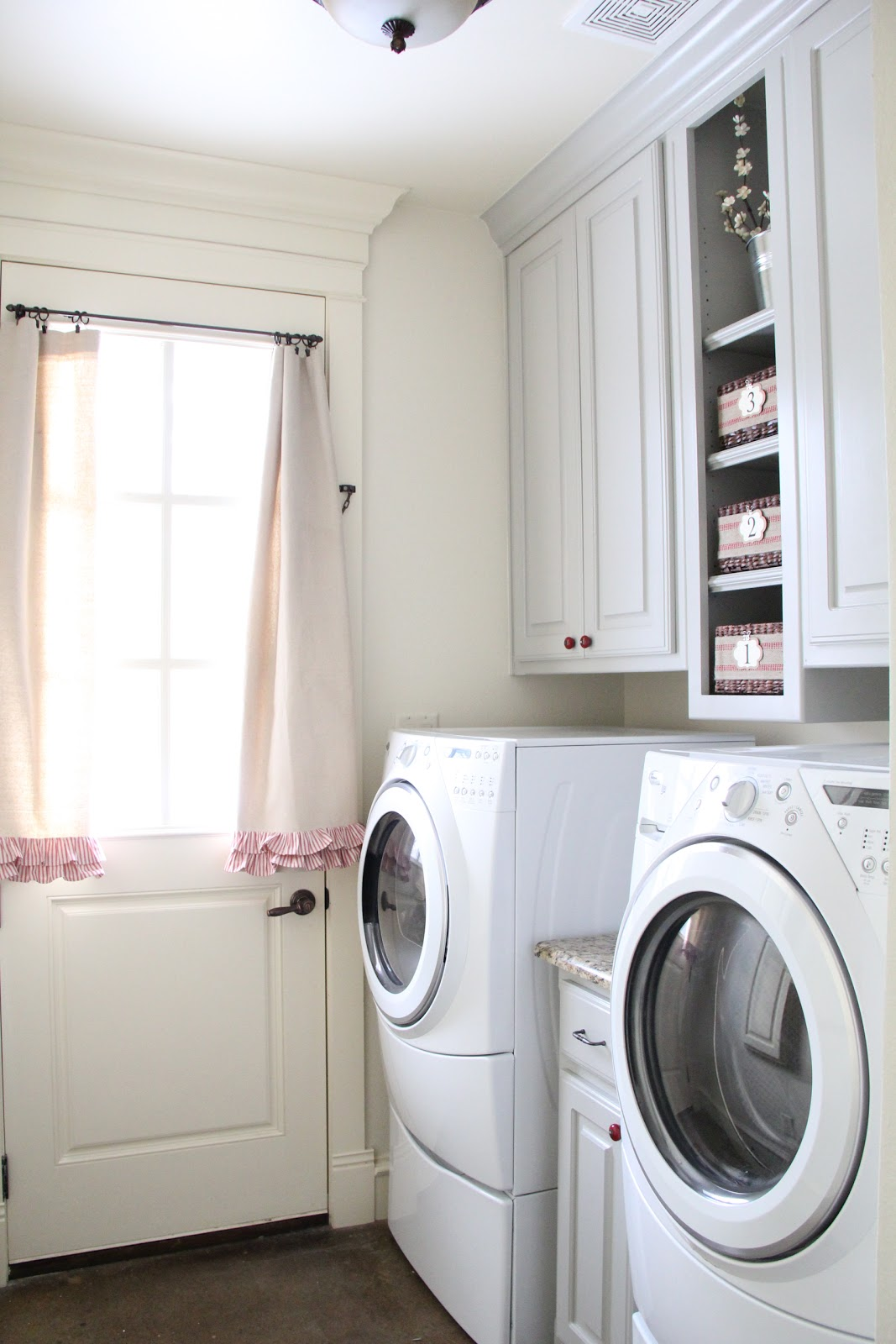 laundry room a giveaway shanty 2 chic. Black Bedroom Furniture Sets. Home Design Ideas