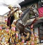 Calamar , el caballo que guia a triana