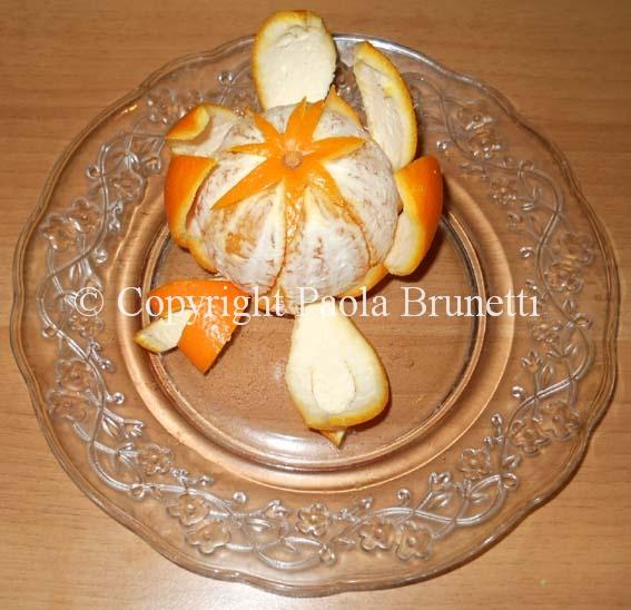 La cucina di paola brunetti intagliare un 39 arancia - Arance secche decorazione ...