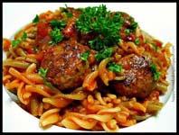 Weight Loss Recipes : Spirals & Meatballs