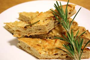 Weight Loss Recipes : Rosemary and Sweet Onion Focaccia