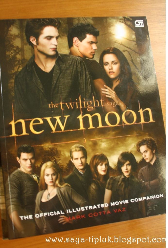 New Moon's Illustrated movie - Indonesian version