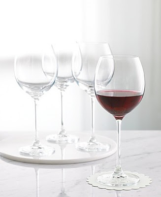 Peeptoe pumps and pearls giveaway winner christmas list for Martha stewart christmas wine glasses