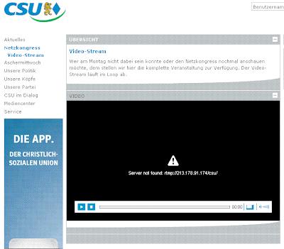 CSU Netzkongress