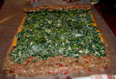 Spinach Meatloaf Roll Recipe