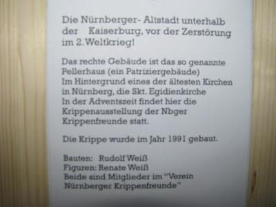 Beschreibung Nürnberger Krippe