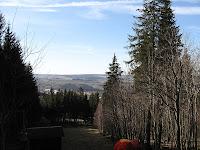 Blick von der Andreasabfahrt auf den Schreckenberg
