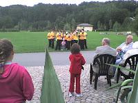 Das Schalmeienorchester zu Gast in Wiesenbad