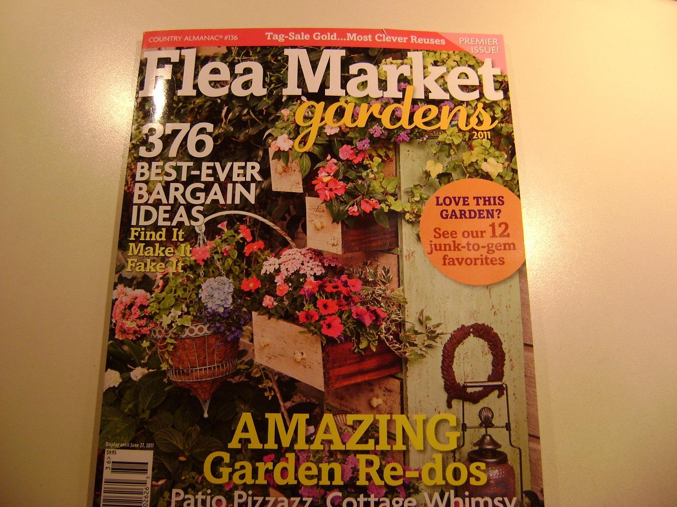 Shabby Garden Creations: Flea-Market Garden Magazine!!