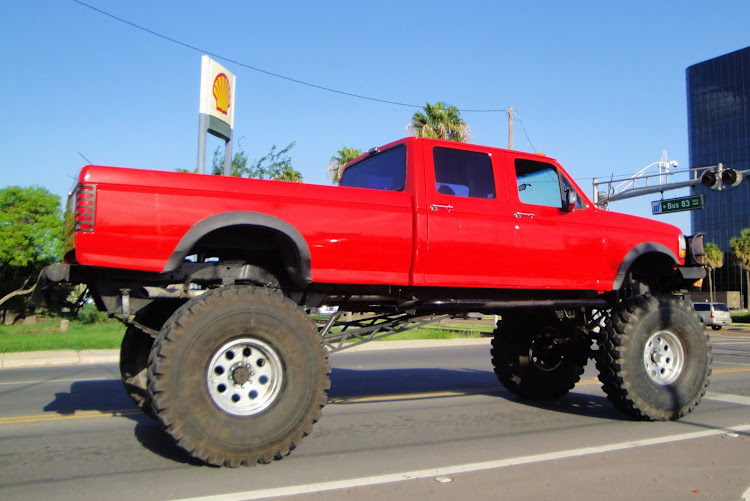 Texas sized truck