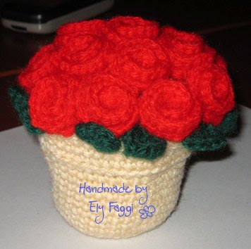 Sewing, crocheting and knitting at Castel Merlino: Vaso di ...