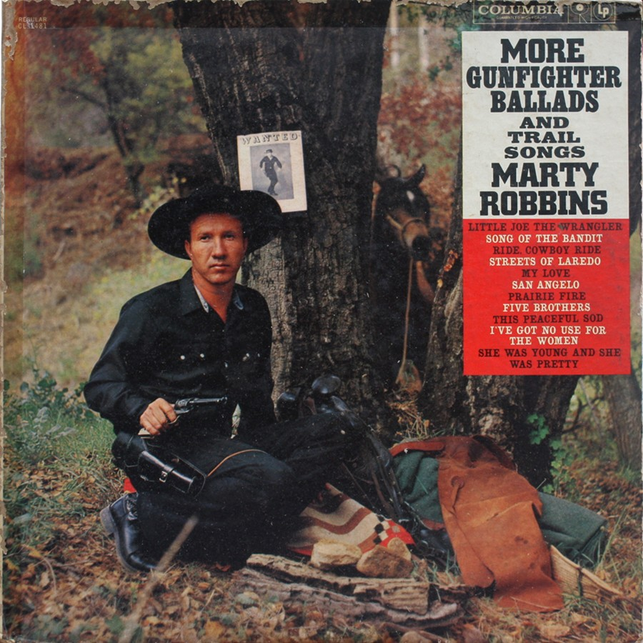 My Vinyl My Love Marty Robbins More Gunfighter Ballads