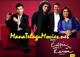 Farah Khan – Bollywood Star Makers in Koffee with Karan-3 -E 4