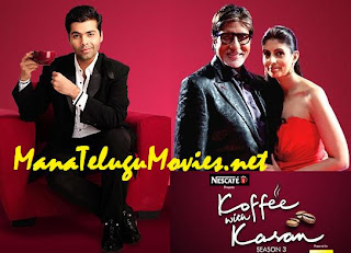 Amithab&his Daughter in Koffee with Karan-26th Dec