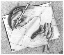 Escher's Drawing Hands