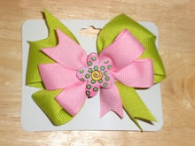 Double Layered Bows with Resins/Charms