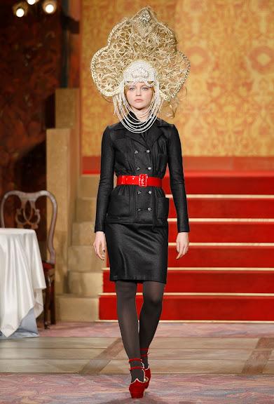 Chanel kokoshnik headpiece