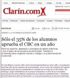 el cbc en la uba: