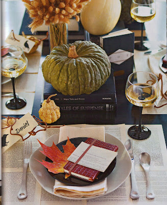 Midwest Living Magazine Thanksgiving Tablescape