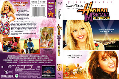 disney channel romania hannah montana the movie dvd cover shq