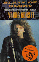 "1990 Oscar Nominated Song ""Blaze Of Glory"" from Young Guns II Jon Bon Jovi"