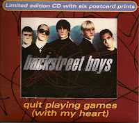 "Top 100 Songs 1997 ""Quit Playing Games (With My Heart)"" Backstreet Boys"