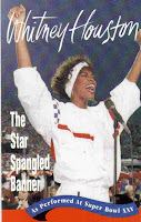 "90's Songs ""The Star Spangled Banner"" Whitney Houston"