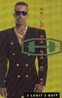 """Top 100 Songs 1992 """"2 Legit 2 Quit"""" MC Hammer"""