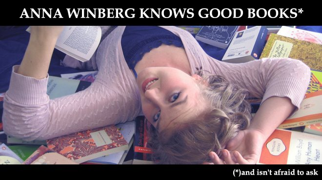 Anna Winberg Knows Good Books