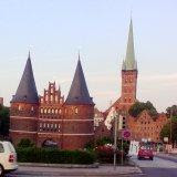Lubeck old city gates