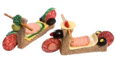 идеи украшения детских блюд