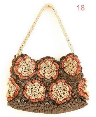 схема вязания сумочки
