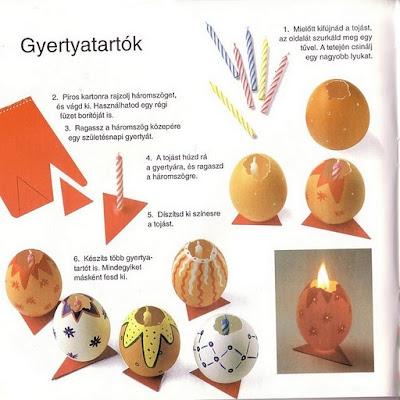 Игрушки из яйца