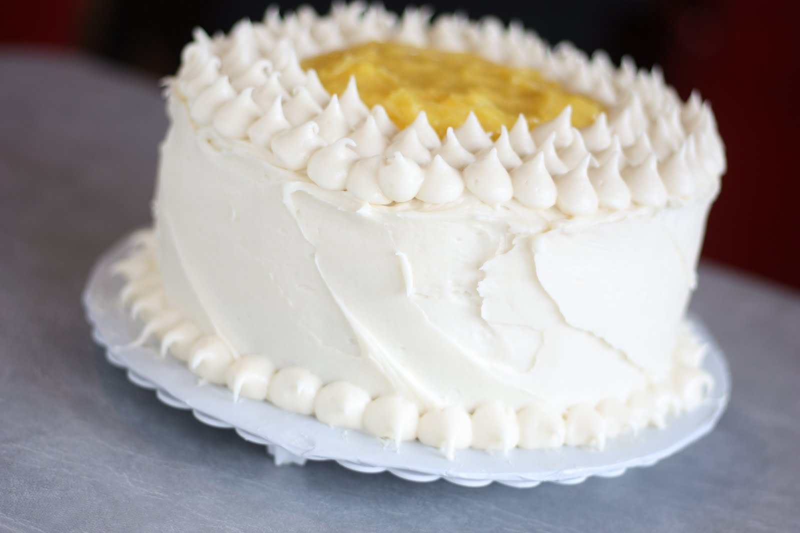 Lemon Layer Cake With Lemon Cream Cheese Frosting Recipes — Dishmaps